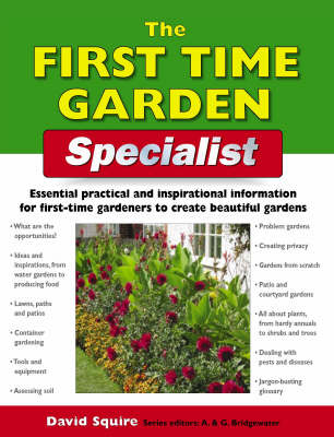 The First-time Garden Specialist - Specialist Series (Paperback)