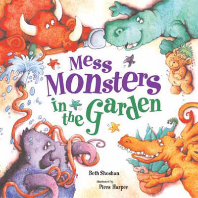 Mess Monsters in the Garden (Paperback)