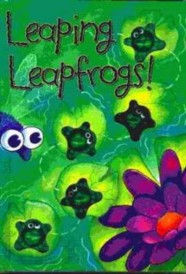 Leaping Leapfrogs! - Button Books (Board book)