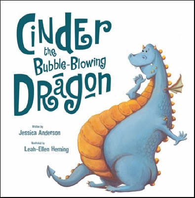 Cinder the Bubble-blowing Dragon (Paperback)