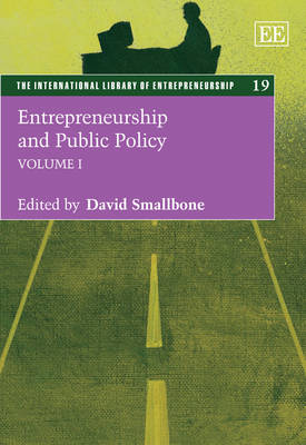 Entrepreneurship and Public Policy - The International Library of Entrepreneurship Series 19 (Hardback)