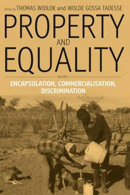 Property and Equality: Encapsulation, Commercialization, Discrimination Pt. 2 (Paperback)