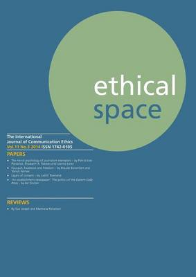 Ethical Space Vol.11 Issue 3 (Paperback)