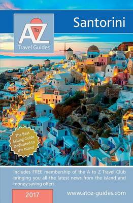 A to Z Guide to Santorini 2017 (Paperback)