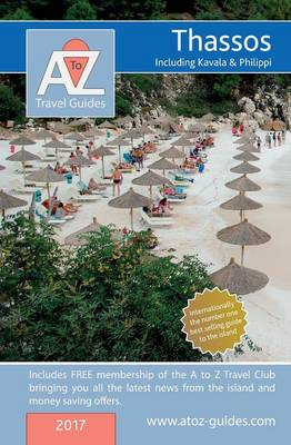 A to Z Guide to Thassos: Including Kavala and Philippi (Paperback)