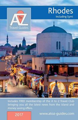 A to Z Guide to Rhodes 2017, Including Symi (Paperback)