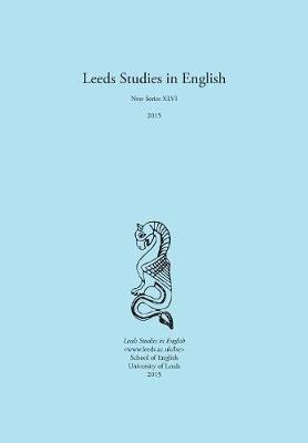 Leeds Studies in English 2015 (Paperback)