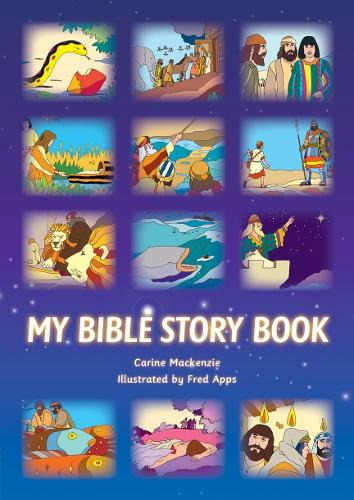 My Bible Story Book - Colour Books (Hardback)