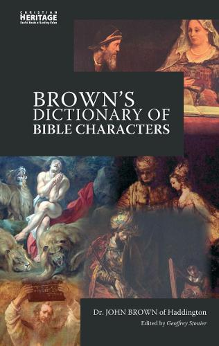 Brown's Dictionary of Bible Characters (Hardback)