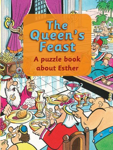Queen's Feast: A puzzle book about Esther - Puzzle (Paperback)