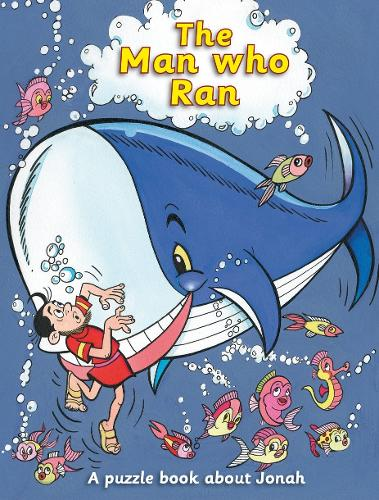 Man Who Ran: A puzzle book about Jonah - Puzzle (Paperback)