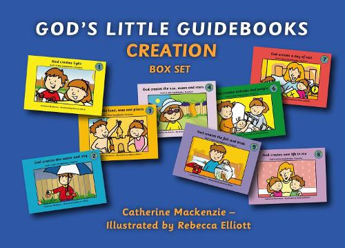 God's Little Guidebooks Creation: 8 Books Box Set - Colour Books (Paperback)