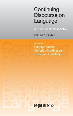 Continuing Discourse on Language: A Functional Perspective (Hardback)