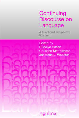 Continuing Discourse on Language: A Functional Perspective (Paperback)