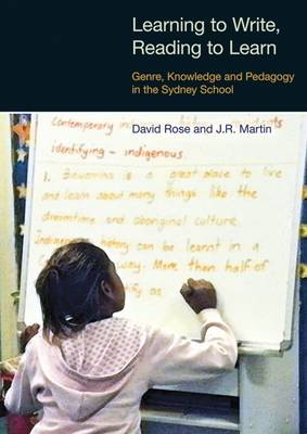 Learning to Write/Reading to Learn: Scaffolding Democracy in Literacy Classrooms - Equinox Textbooks & Surveys in Linguistics (Hardback)