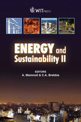 Energy and Sustainability: II - WIT Transactions on Ecology and the Environment No. 121 (Hardback)
