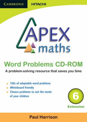 Apex Maths Word Problems CD-ROM 6 Extension - Apex Maths (CD-ROM)