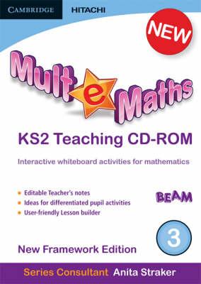 Mult-e-Maths Teaching CD-ROM 3: New Framework Edition - Mult-e-Maths (CD-ROM)