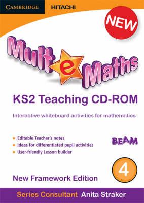 Mult-e-Maths Teaching CD-ROM 4: New Framework Edition - Mult-e-Maths (CD-ROM)