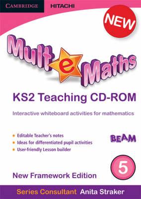 Mult-e-Maths Teaching CD-ROM 5: New Framework Edition - Mult-e-Maths (CD-ROM)