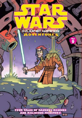 Star Wars - Clone Wars Adventures: v. 9 (Paperback)