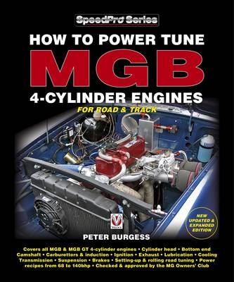 How to Power Tune MGB 4-cylinder Engines - SpeedPro Series (Paperback)