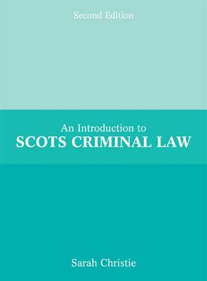 Introduction to Scots Criminal Law (Paperback)