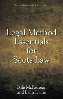 Legal Method Essentials for Scots Law (Paperback)