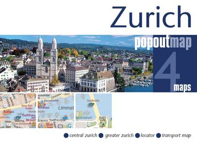 Zurich PopOut Map - Popout Maps (Sheet map, folded)