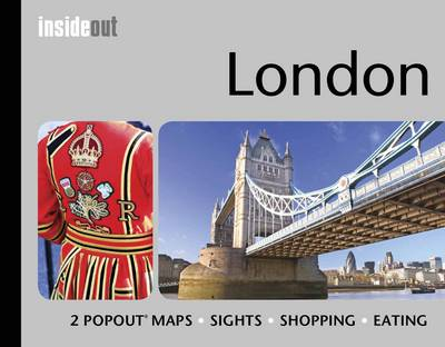 London Travel Guide: Pocket Size London Travel Guide with Two Pop-up Maps - InsideOut