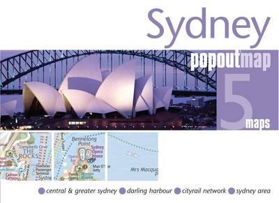 Sydney PopOut Map - Popout Maps (Sheet map, folded)