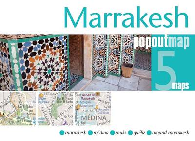 Marrakesh PopOut Map - Popout Maps (Sheet map, folded)