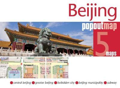 Beijing PopOut Map - PopOut Maps (Sheet map, folded)