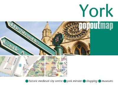 York PopOut Map - PopOut Maps (Sheet map, folded)