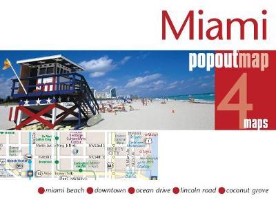 Miami PopOut Map - PopOut Maps (Sheet map, folded)