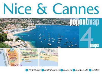 Nice & Cannes PopOut Map - PopOut Maps (Sheet map, folded)