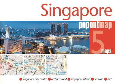 Singapore PopOut Map By Maps