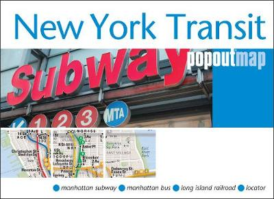 New York Transit PopOut Map - PopOut Maps (Sheet map, folded)