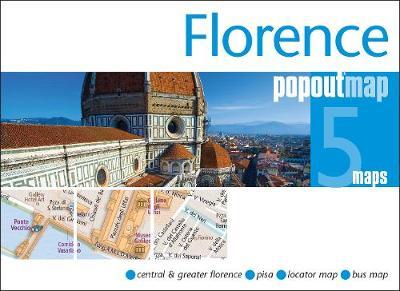 Florence PopOut Map: Handy pocket size pop up city map of Florence - PopOut Maps (Sheet map, folded)