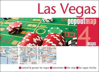Las Vegas PopOut Map: Handy pocket size pop up city map of Las Vegas - PopOut Maps (Sheet map, folded)