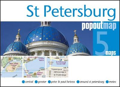 St Petersburg PopOut Map - PopOut Maps (Sheet map, folded)