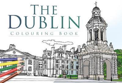 The Dublin Colouring Book (Paperback)