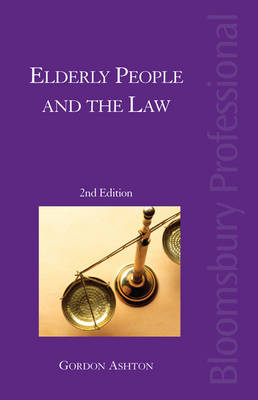 Elderly People and the Law (Paperback)