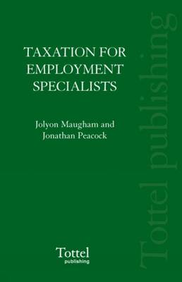 Taxation for Employment Specialists (Paperback)