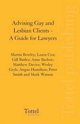 Advising Gay and Lesbian Clients: A Guide for Lawyers (Paperback)
