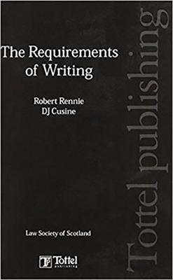 The Requirements of Writing (Hardback)