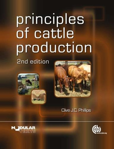Principles of Cattle Production (Paperback)
