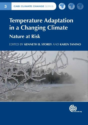 Temperature Adaptation in a Changing Climate: Nature at Risk - CABI Climate Change Series (Hardback)