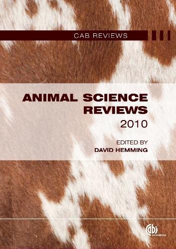 Animal Science Reviews 2010 (Hardback)
