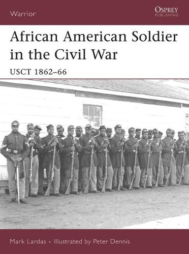 African American Soldier in the Civil War: Usct 1862-66 - Warrior No. 114 (Paperback)
